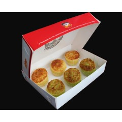 Bika Ambon Mini Mix isi 3 Original 3 pandan
